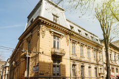 Old villa for sale in Bucharest, Romania Stock Photography