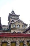 Old villa. Scandinavian-style Norwegian-style villa in shanghai Stock Photo