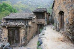 Old village. The scenery of Luotuodao village, Shanxi, China Stock Photos