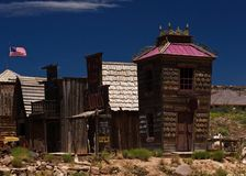 Old village. Old cowboy vilage in far west Stock Photography