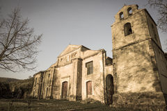 Old village abandoned Royalty Free Stock Photos