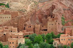 Old village in the Atlas Mountains Stock Photography