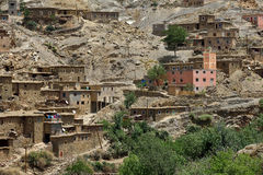 Old village in the Atlas Mountains Stock Photo