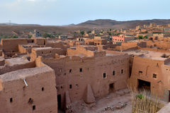 Old village in the Atlas Mountains Royalty Free Stock Photography