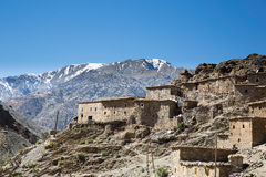 Old village in the Atlas Mountains Royalty Free Stock Image