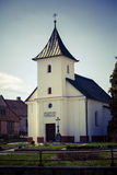 Old village christian chapel or church in czech republic Royalty Free Stock Photos