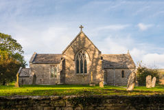 Old Village Church Stock Photography