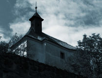 Old village church Royalty Free Stock Image