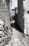 Old village in Croatia Royalty Free Stock Images