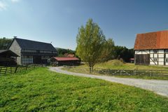 Old village farm. Architecture of Germany Royalty Free Stock Photos