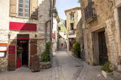 Old village in france. Old village, saint-guilhem-le-désert Royalty Free Stock Image