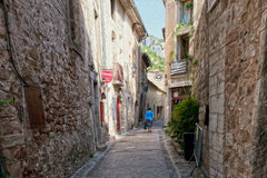 Old village in france Royalty Free Stock Photo