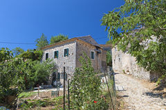 Old village in Greece Royalty Free Stock Image