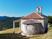 Old Village Greek Orthodox Church, Greece Stock Photography