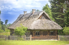 Old village house, Lithuania Stock Photography