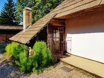 Old village house. Historical traditional country royalty free stock photos