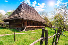 Old village house, summer Stock Photo