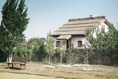 Old village house. In ukraine Royalty Free Stock Photography