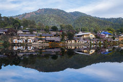Old Village Is Reflection Rak Thai Village In Pai,Mae Hong Son,Thailand. Royalty Free Stock Images