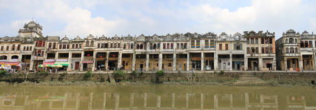 Old Village in Kaiping Royalty Free Stock Images