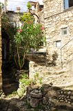 Old village lane, Fanghetto, Liguria, Italy Stock Photos