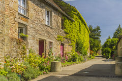An old village. A lovely village in Normandy Royalty Free Stock Photos