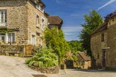 An old village. A lovely village in Normandy Royalty Free Stock Image