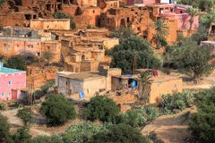 Old village in Morocco Royalty Free Stock Photo