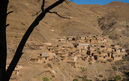 Old village in Morocco Stock Images