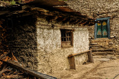 Old village in Nepal Royalty Free Stock Photography