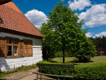 Old village in Poland royalty free stock photos