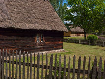 Old village in Poland stock photo