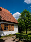 Old village in Poland royalty free stock photography