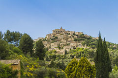 An old village in Provence. Gordes One of the most beautiful village in France Royalty Free Stock Photo