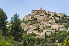 An old village in Provence. One of the most beautiful village in France Royalty Free Stock Photo