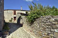 Old village of Puycelsi in France Stock Photography