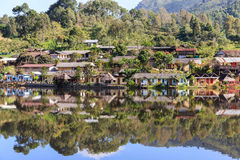 Old Village is Rak Thai Village in Pai,Mae Hong Son Royalty Free Stock Photography