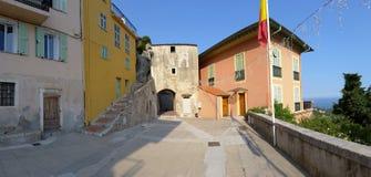 The old village of Roquebrune-Cap-Martin Stock Image