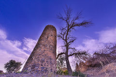 Old Village Ruins in Ibra Oman Royalty Free Stock Photos