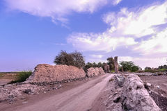 Old Village Ruins in Ibra Oman Stock Photography