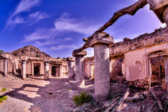 Old Village Ruins in Ibra Oman Stock Images