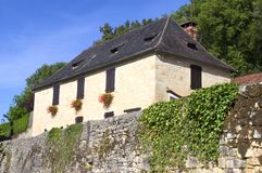 Old village of Saint-Amand-of-Coly Royalty Free Stock Image
