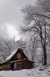 Old village in Shirakawa-go, Japan Stock Photo