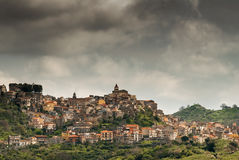 Old village in Sicily Royalty Free Stock Photo