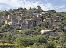 Old village in south france Royalty Free Stock Photos