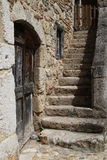 Old village stair Royalty Free Stock Images