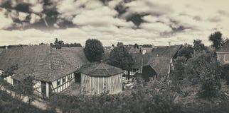 Old Villiage, Den Gamle By,  Denmark Stock Photos