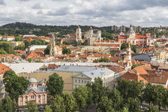 Old Vilnius Royalty Free Stock Photography