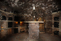Old vine cellar Stock Photos