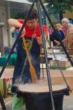 Old Vine Festival 2014, Maribor, Slovenia Royalty Free Stock Images